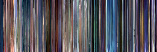 Moviebarcode: Monsters, Inc. (2001) by moviebarcode