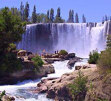 Chile, Salto El Laja, Water Springs by Daidalos