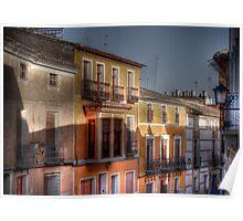 Calle del Caño - Mula (Spain) - (treatment 2) Poster