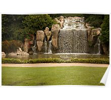 The Waterfall - Hunter Valley Gardens Series Poster