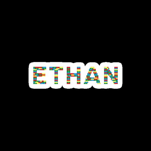 Ethan Lego Tee by OohLaLiza