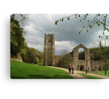 At Fountains Abbey Canvas Print