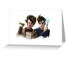 Beyond the End of Time Greeting Card
