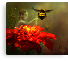 Flight of Fantasy Canvas Print