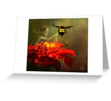 Flight of Fantasy Greeting Card
