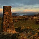 Golden light on Gummers How by Shaun Whiteman