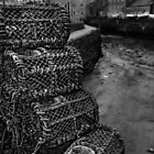 Lobster Pots by Alan E Taylor