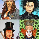 Johnny Depp collage by ManemannArt