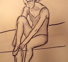 Dancer Study #2 by cjmrowlands
