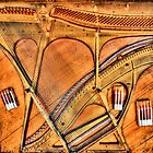 Piano Art - Muenster, Texas by jphall