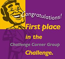 First Place CCG banner by Alex Preiss