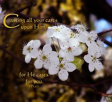 Cast your cares by vigor