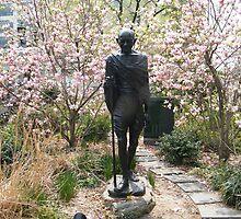 Gandhi Statue, Union Square, New York City by lenspiro