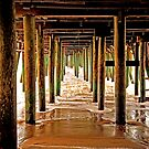 untitled; OOB; under the pier after the storm by Tania Palermo