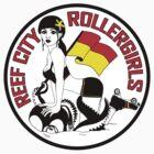 Reef City Roller Girls Sticker by Reef City Roller Girls
