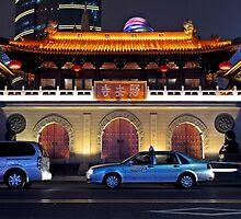 Jing'an Si, Shanghai, China by DaveLambert