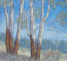 """Burnett Country"" Pastel  by Alison Murphy"