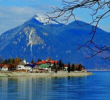 Jochberg and Walchensee. Germany. by Daidalos