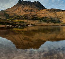 Stac Pollaidh Reflection on Loch Lurgainn by John Ellis