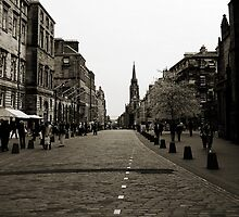 Edinburgh's Royal Mile by AmandaJanePhoto