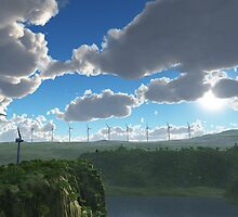 Windmills by VirtualArtist