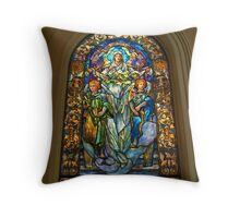 Blessed Are The Meek for They Shall Inherit The Earth. Throw Pillow