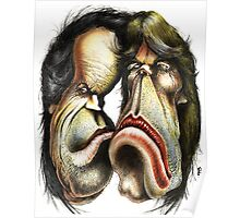The Rolling Stones caricature Poster