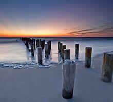 Naples Beach by Doug Dawson