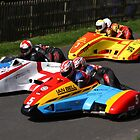 Sidecar race start - Oliver's Mount 2011 by Nick Barker