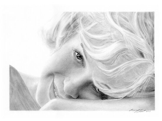 Marilyn Monroe by Ronny Hart