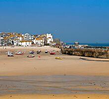 St Ives Harbour, Cornwall by GBR309