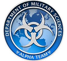DMS Logo ALPHA TEAM by Jonathan Maberry