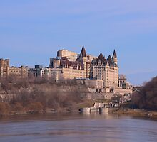 Chateau Laurier - Ottawa, Ontario by Josef Pittner