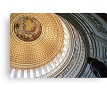 Rotunda of the United States Capitol Canvas Print