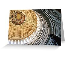 Rotunda of the United States Capitol Greeting Card