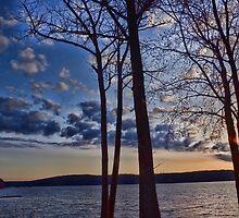 Sunrise over my community by Nancy Rohrig