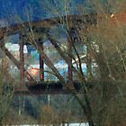 RailRoad Bridge over the Allegheny at Oil City by Geno Rugh