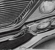 1964 Chrysler New Yorker grille by Kevin Krueger