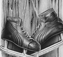 old ice skates by Kevin Krueger