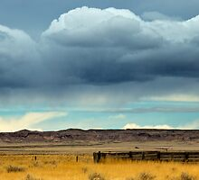 Rain Over The Prarie by John  De Bord Photography