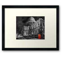 A Touch Of Red - HDR Framed Print