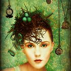 Girl With Bird's Nest by Sybille Sterk
