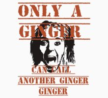 Only A Ginger by Rachel Miller