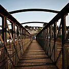 Footbridge by Roxy J