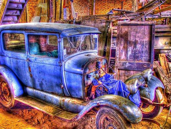 Vintage Car II by Daidalos