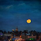 Manhattan Moonrise by Chris Lord