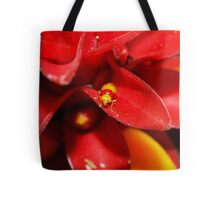 Red and Yellow bug Tote Bag