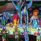 'Alebrijes' & crosses by Shirley  Poll