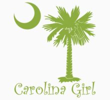 Lime Green Carolina Girl Palmetto Moon by PalmettoTrading