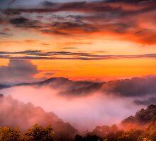 Sky a'Fire by Joshua Hanna